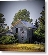 Old Home In Indiana Metal Print