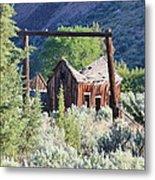 Old Homestead On Trout Creek Metal Print