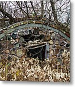 Old Ice House Metal Print