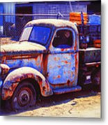 Old Junk Truck Metal Print
