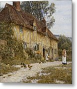 Old Kentish Cottage Metal Print