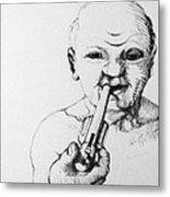 Old Man Metal Print by Louis Gleason