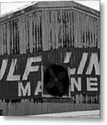 Old Marine Sign Metal Print