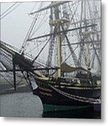 Old Massachusetts Sailing Ship Metal Print