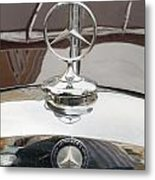 Old Mercedes Logos Metal Print