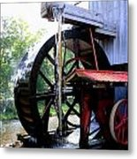 An Old Mill Metal Print
