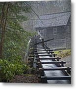 Old Mill In The Smokey Mountains Metal Print