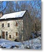 Old Mill On Winters Road Metal Print