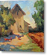 Old Mill Provence Metal Print