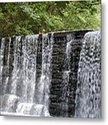 Old Mill Waterfall Metal Print