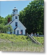 Old Mission Point Lighthouse 5306 Metal Print by Michael Peychich