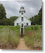 Old Mission Point Lighthouse Metal Print