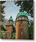 Old Montreal Church Metal Print