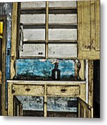 Old Mother Hubbards Cupboard Metal Print