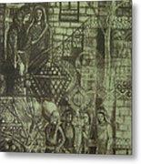 Old Oriental Story Metal Print
