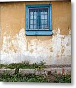 Old Paint Old Wall New Mexico Metal Print