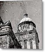 Old Parliament In Bc Metal Print