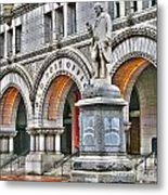 Old Post Office Pavillion Washington Dc Metal Print