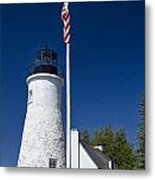Old Presque Isle Light Station Metal Print
