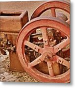 Old Pump Metal Print