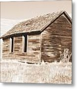 Old Ranch Hand Cabin Ll Metal Print