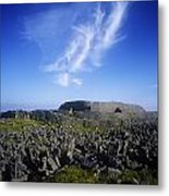 Old Ruins Of A Fort On The Landscape Metal Print