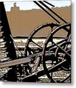 Old School Tool  Metal Print by Gilbert Artiaga