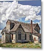 Old Schoolhouse - Ovid - Idaho Metal Print