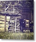 Old Shed Metal Print by Joana Kruse