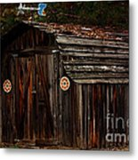 Old Shed Oakhurst Metal Print by Marjorie Imbeau