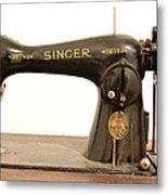 Old Singer 2 Metal Print