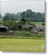 Old Smith River Dairy Metal Print