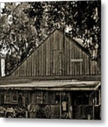 Old Spanish Sugar Mill Old Photo Metal Print