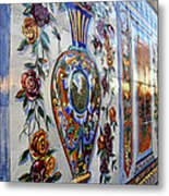 Old Spanish Tiles Metal Print