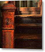 Old Staircase Metal Print by Jill Battaglia