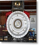Old Steam Locomotive Engine 5 . The Little Buttercup . 7d12920 Metal Print
