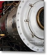 Old Steam Locomotive Engine 5 . The Little Buttercup . 7d12921 Metal Print