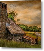 Old Stone Countryside Metal Print