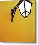 Old Street Lamp Metal Print