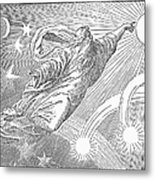 Old Testament: God Metal Print