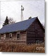 Old Time Barn From Days Gone By Metal Print