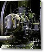 Old Time Equipment Metal Print