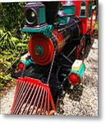 Old Time Train Metal Print