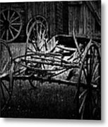 Old Times Turn Metal Print