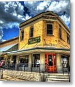 Old Town Bryan Drug Store Metal Print