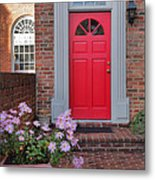 Old Town Entrance Metal Print by Steven Ainsworth