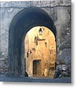 Old town gate 1 Metal Print