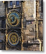 Old Town Hall Clock Metal Print
