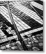 Old Tracks Made New Metal Print