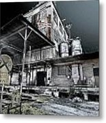 Old Train Station Metal Print